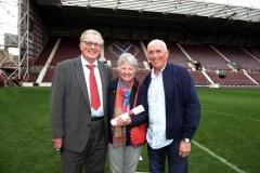 Foundation of Hearts  Awards Tynecastle Stadium, Edinburgh.